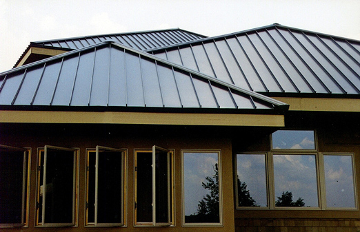 aluminum standing seam roof panels anchor penetration details classic metal roofing systems